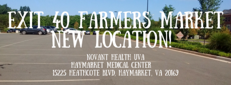 Exit 40 Farmers MarketNew Location!