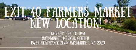 Exit 40 Farmers MarketNew Location!