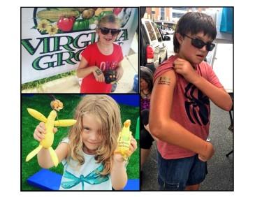 Farmers Market Week Kids